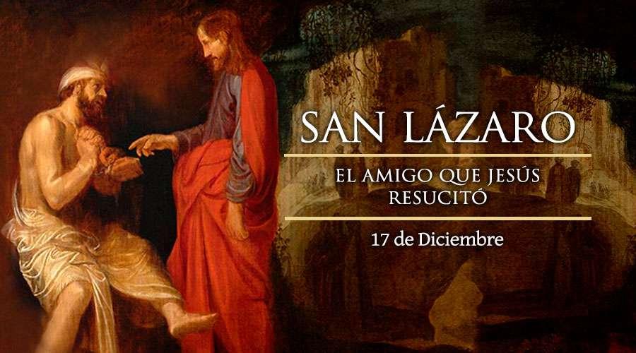 Lázaro resucitado