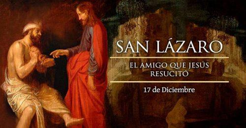 Oración y gloria al milagroso San Lázaro