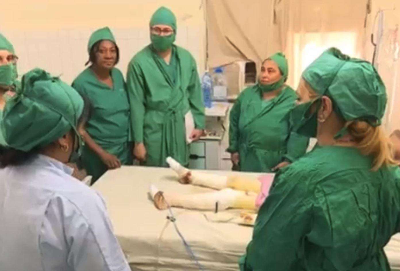 Lesionados en Hospital
