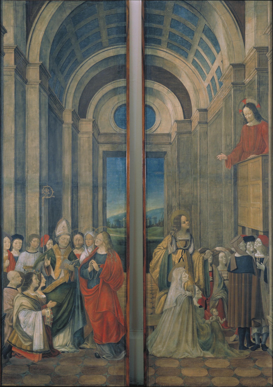 Representación del Milagroso San Lázaro