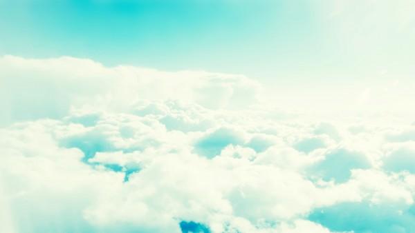 el cielo nubes
