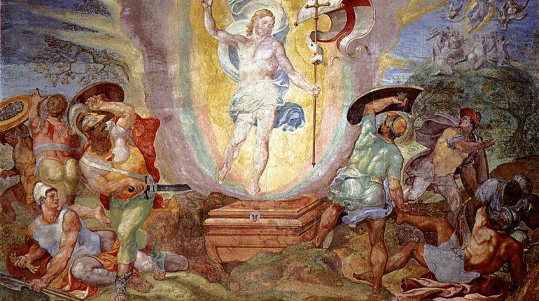 Resurreción de Cristo Capilla Sixtina