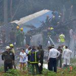Cae avión en La Habana