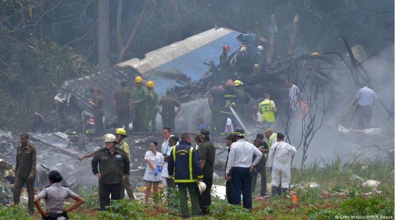 La Habana. Accidente aéreo.